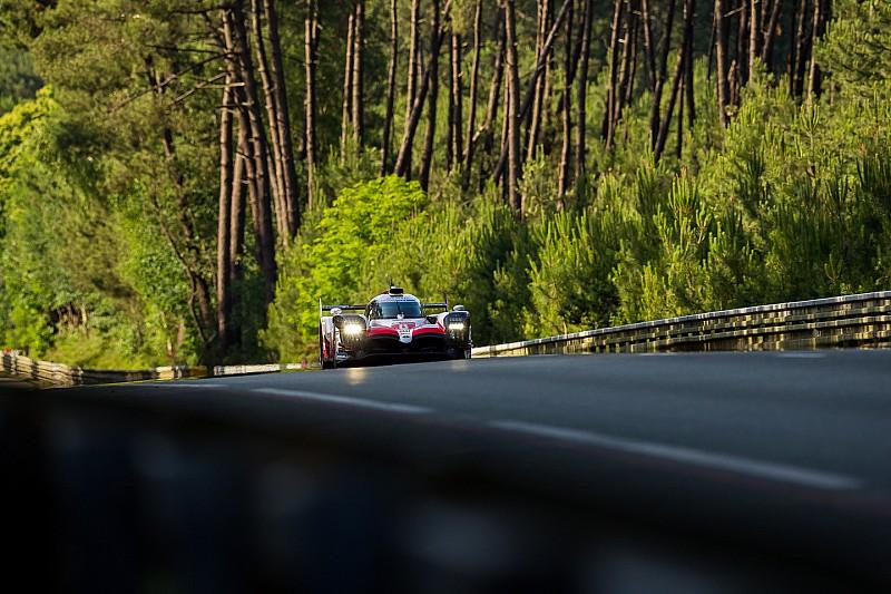 Toyota lidera con holgura el trámite del Warm up en Le Mans