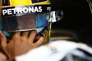 """Hamilton, tras su accidente: """"Los retos hacen la vida interesante"""""""