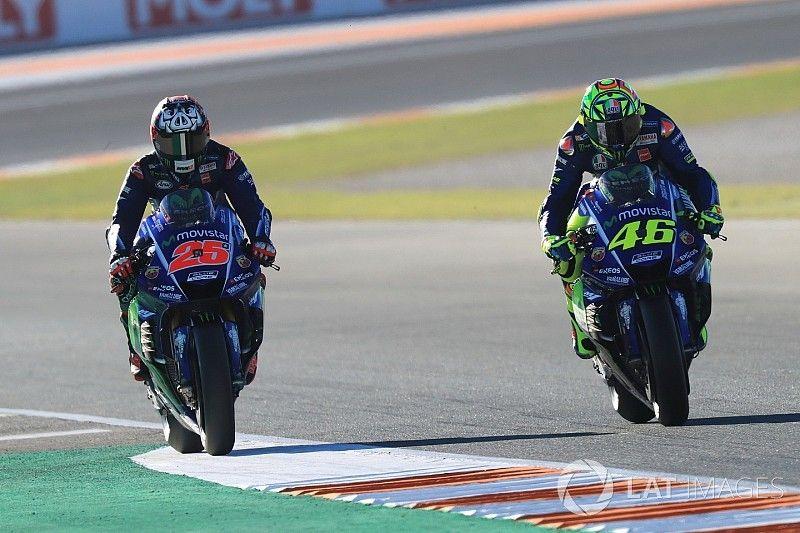 """Rossi: """"Si Yamaha nos da una buena moto, nos irá bien tanto a Viñales como a mí"""""""