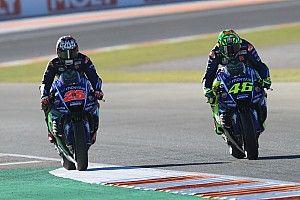 Les pilotes Yamaha peuvent tout changer sur leur moto, sauf sa couleur