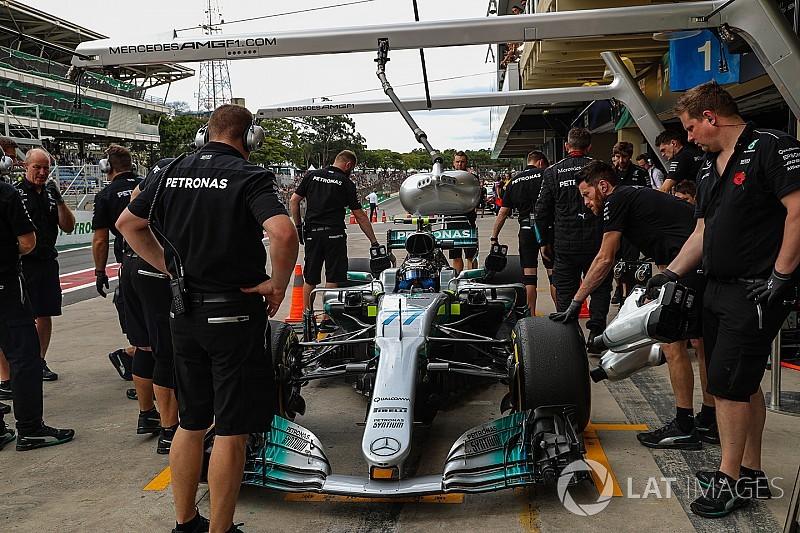Asaltaron a punta de pistola a parte del equipo Mercedes en Brasil