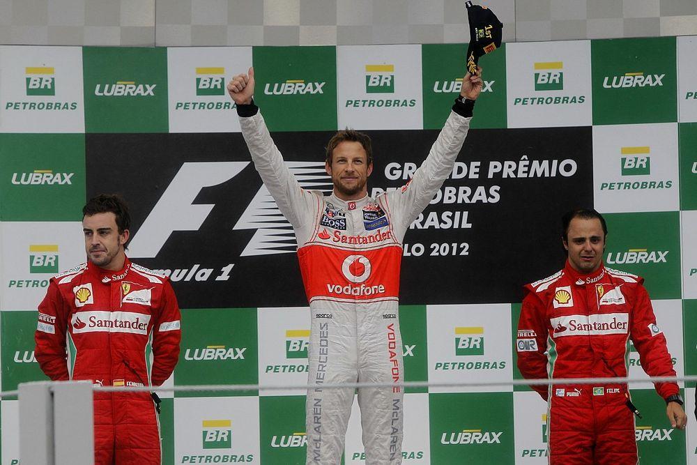 F1: Relembrando GP do Brasil de 2012, Alonso se surpreendeu com choro de Massa