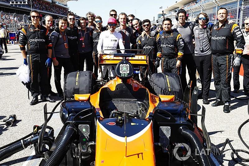 """Brown: """"Tras Ferrari, Alonso tiene en McLaren un ambiente que le gusta"""""""