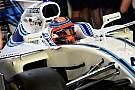 Formule 1 Kubica roulera lors des tests de Barcelone