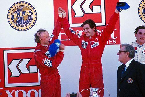 Lauda 0,5 ponttal lett bajnok a McLarennel Prost előtt : ma 35 éve