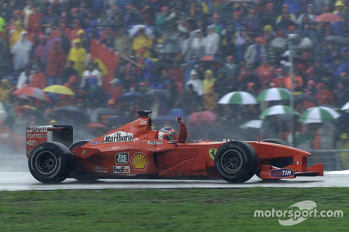 Carrière in cijfers: Rubens Barrichello