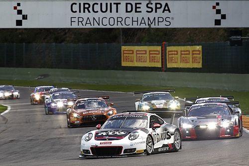 Porsche en WRT Audi likken wonden na 24 uur Spa