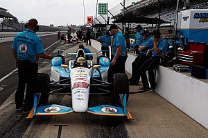 """IndyCar Breaking news Harding will need to be """"extra-diligent"""" as a one-car team"""