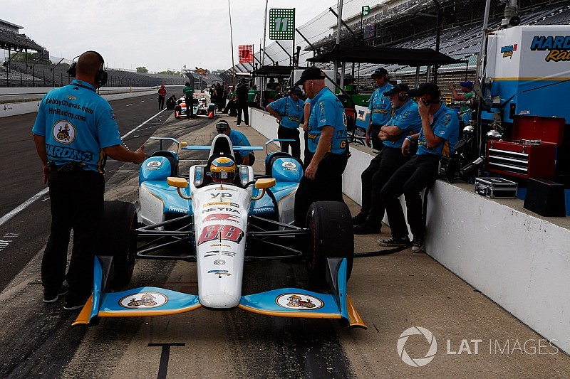 """Harding will need to be """"extra-diligent"""" as a one-car team"""