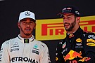 Ricciardo considera que su podio fue un golpe de suerte