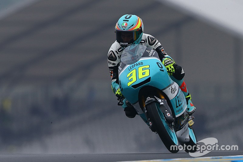 Le Mans Moto3: Mir wins after oil spill carnage