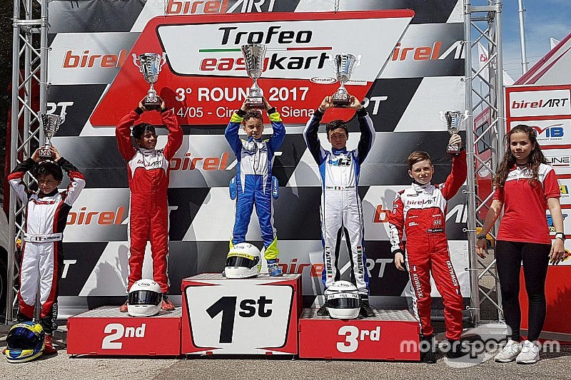 Alva misses out on victory in third EasyKart round
