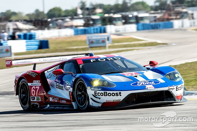 "Briscoe ""nailed"" pole lap, as Sebring GT qualifying records tumble"