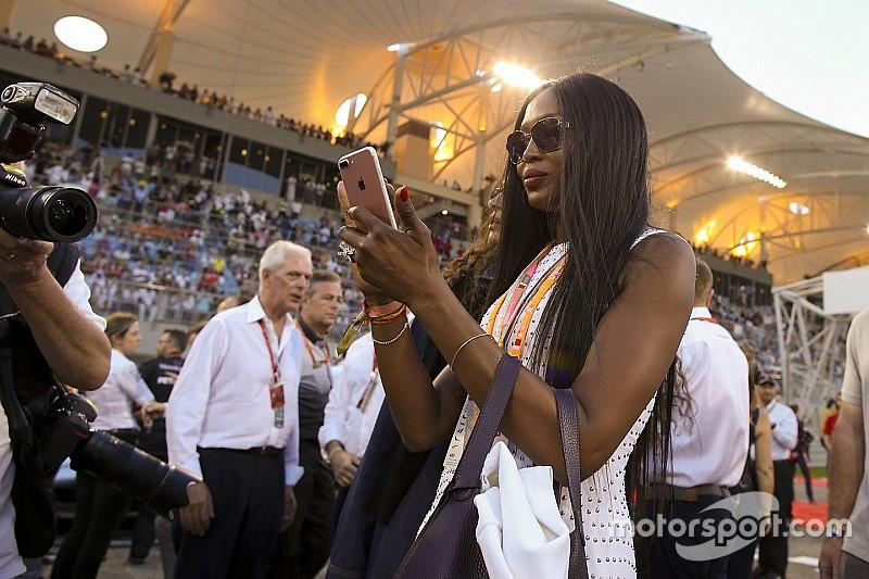 Bahreini Nagydíj 2017: Naomi Campbell vitte a prímet a rajtrácson