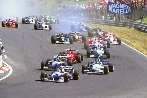 When was competition in F1 at its closest?