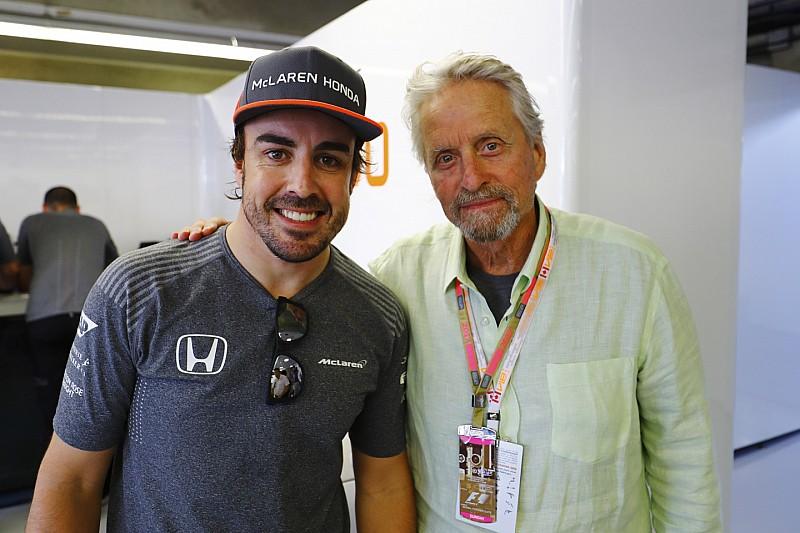 Michael Douglas: Jelenleg Alonso a legjobb