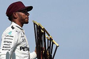 """Hamilton: """"Hemos dado un buen golpe a Ferrari"""""""