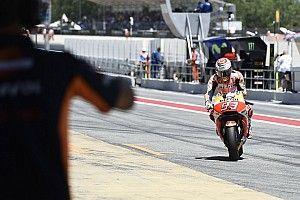 Márquez domina el test de Barcelona; Viñales segundo, como ya vaticinó