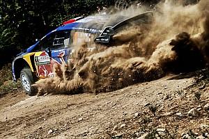 WRC Actualités Ogier sort de la route lors des tests en Finlande