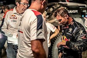 Blessé après son accident, Loeb abandonne