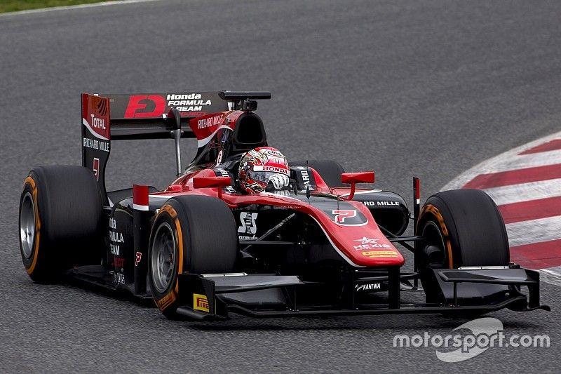 Мацушита стал быстрейшим по итогам первого дня тестов Ф2