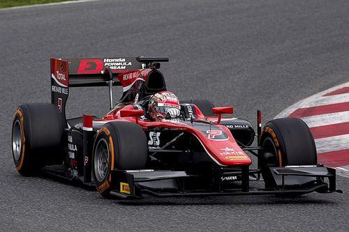 F2-Test in Barcelona: Nobuharu Matsushita an der Spitze von Tag 1