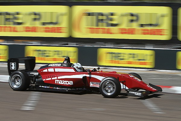 USF2000 St Pete USF2000: Askew scores first win as Thompson falters