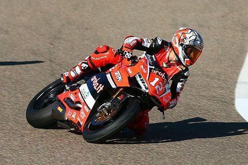 Ducati vince anche nella Stock 1000 grazie a Rinaldi. Sul podio Tamburini