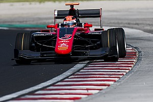 GP3 Testing report Russell sweeps first day of Hungaroring GP3 test