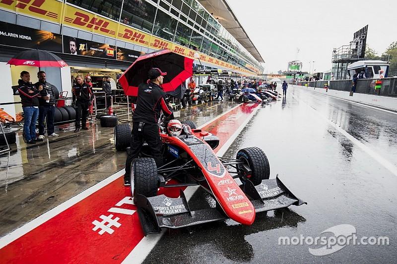 Les essais GP3 annulés à cause de la pluie à Monza