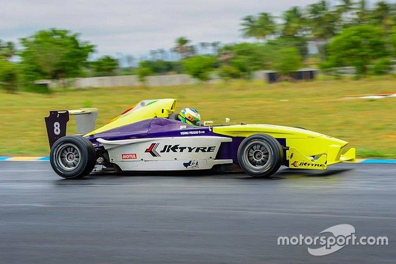 Coimbatore JK Tyre Racing: Prasad finally clinches win in Race 4