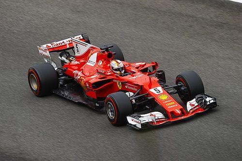 """Vettel: """"Sono in prima fila anche grazie alla scia che mi ha dato Kimi"""""""