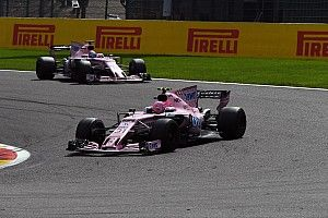 Force India threatens Ocon, Perez with race ban