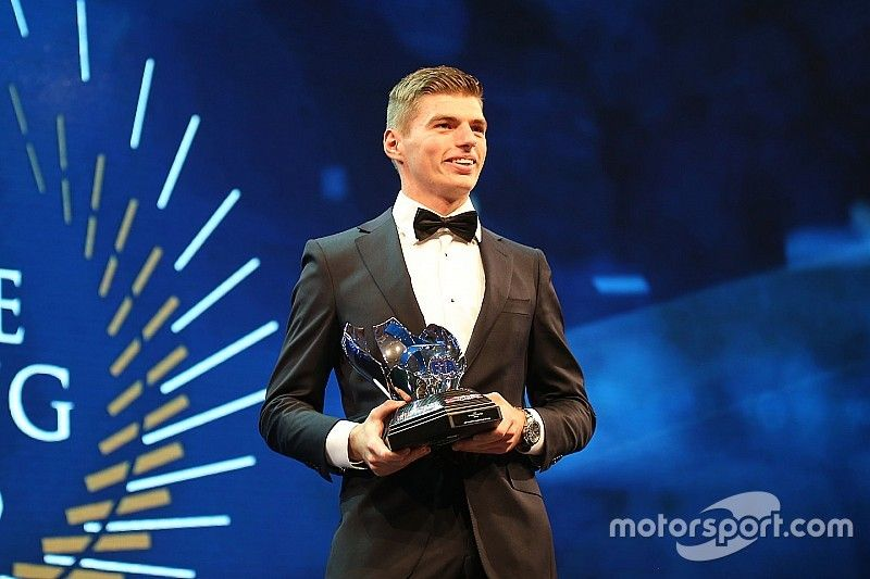 Verstappen scoops two awards at FIA Gala prize-giving