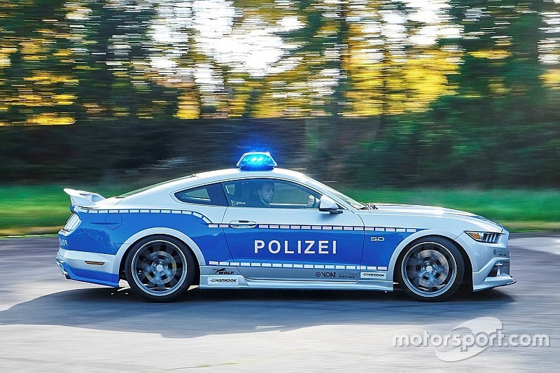 Une Ford Mustang tunée pour la police allemande