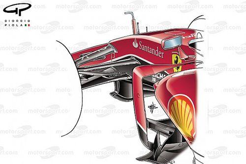 F1: Ferrari analisa diferentes soluções de suspensão para 2022