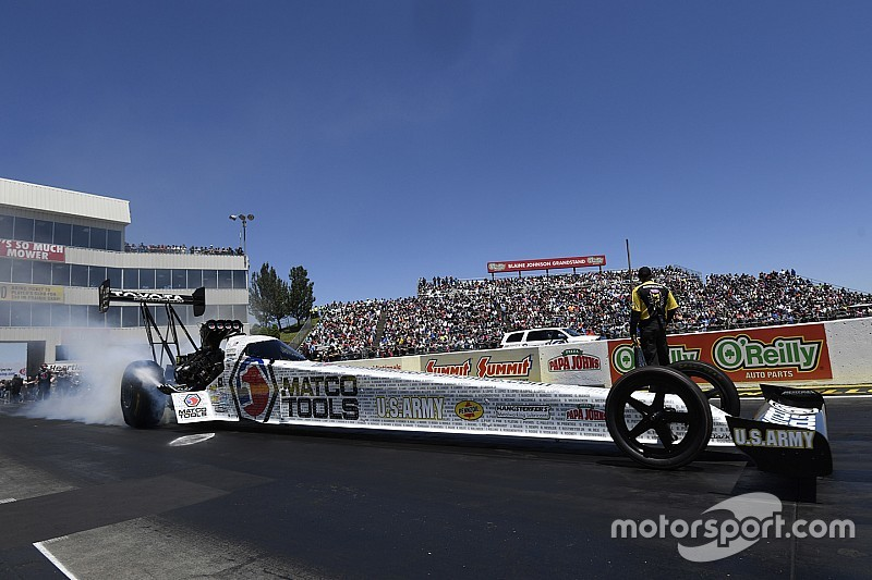 Brown, C. Force, Butner, Tonglet are provisional qualifiers at NHRA Summernationals