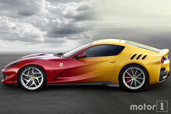 Auto Actualités Photos - Comparez les Ferrari 812 Superfast et F12tdf
