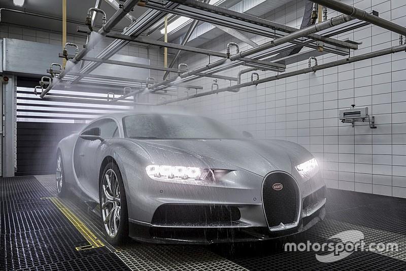 La Bugatti Chiron côté coulisses