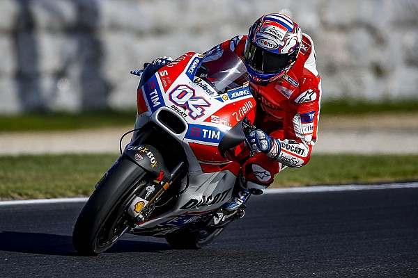 "MotoGP Breaking news Dovizioso admits Ducati improvements are ""not enough"""