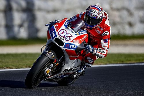 "Dovizioso admits Ducati improvements are ""not enough"""