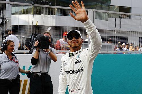 """Hamilton: """"Una pole position sorprendente ed inattesa!"""""""