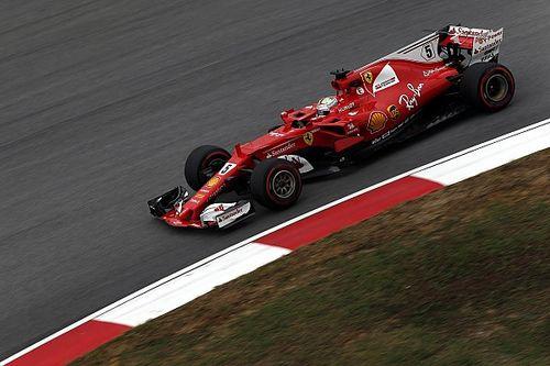 Vettel terminó el viernes arriba en Malasia