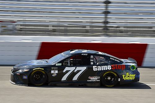 Erik Jones ends second Richmond practice on top