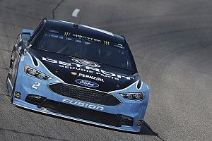 Keselowski wins second stage of Richmond Cup race