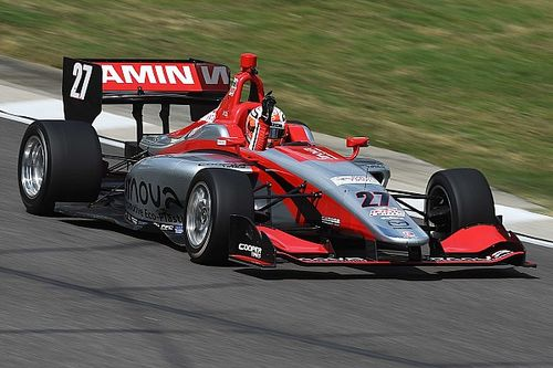 Indy GP Lights: Jamin dominates for second series win