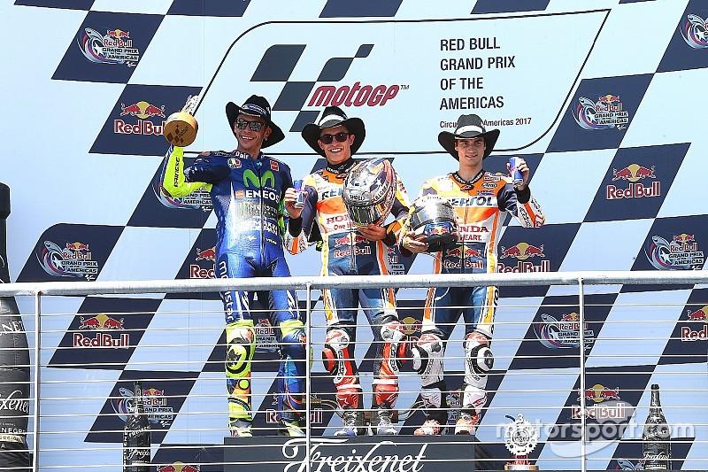Austin MotoGP: Marquez stays unbeaten at COTA, Vinales crashes