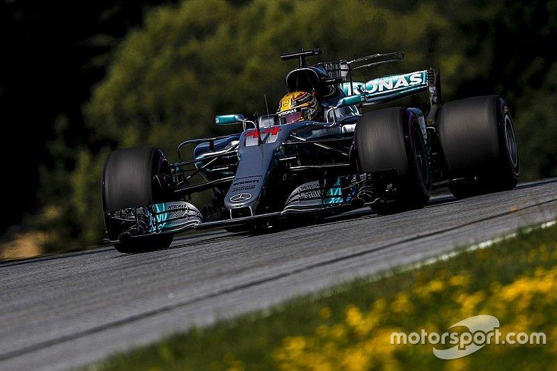 """Hamilton : """"J'étais le plus rapide"""" au Red Bull Ring"""