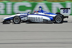 Indy Lights Qualifying report Iowa Indy Lights: Herta takes fourth pole of the season