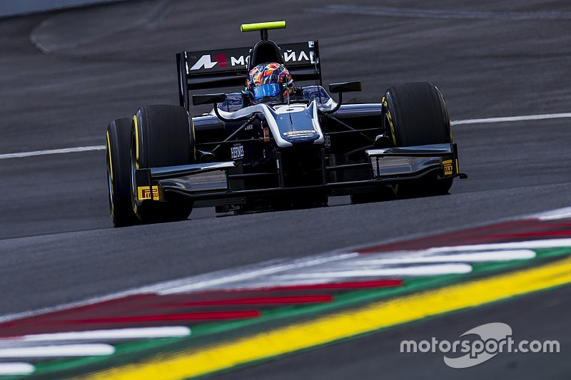 Markelov se lleva la segunda carrera de F2 en Austria con K.O de Leclerc